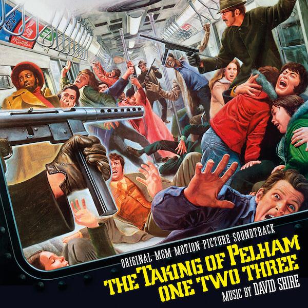 Quartet Records reedita The Taking of Pelham One Two Three de David Shire