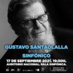 Cartel Gustavo Santaolalla Sinfónico