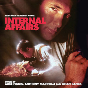 Carátula BSO Internal Affairs - Mike Figgis, Anthony MarinelliyBrian Banks
