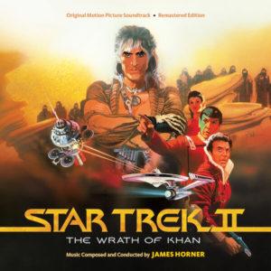 Carátula BSO Star Trek II: Wrath of Khan - James Horner