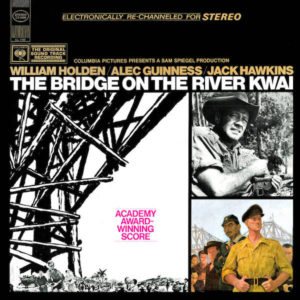 Carátula BSO The Bridge on the River Kwai - Malcolm Arnold