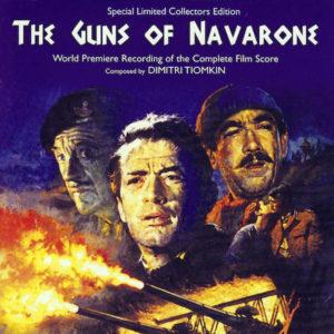 Carátula BSO The Guns of Navarone - Dimitri Tiomkin