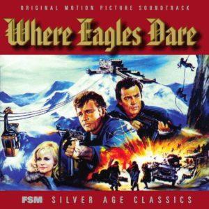 Carátula BSO Where Eagles Dare - Ron Goodwin