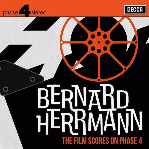 Decca Records lanza Bernard Herrmann: The Film Scores on Phase 4