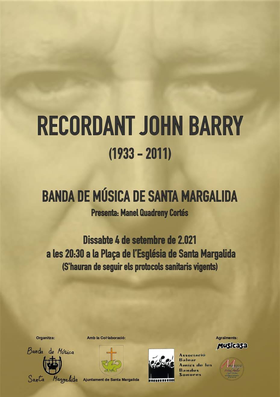 Recordant John Barry: Concierto en Mallorca (ABABS)