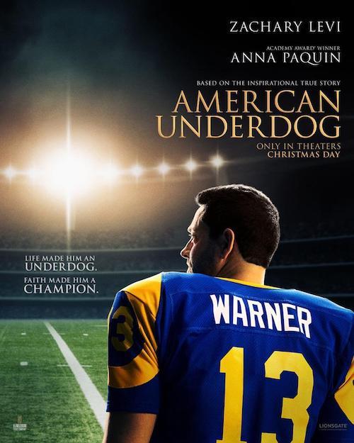 John Debney para el biopic American Underdog