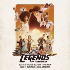Carátula BSO Caratula BSO DC´s Legends of Tomorrow: Season 5 - Blake Neelyy Daniel James Chan