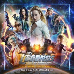 Carátula BSO DC´s Legends of Tomorrow: Season 4 - Blake Neelyy Daniel James Chan