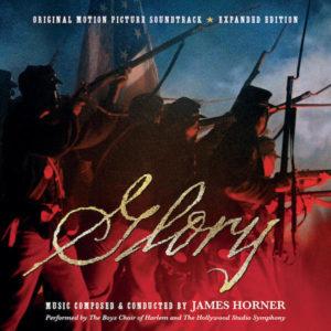 Carátula BSO Glory - James Horner