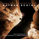 Carátula BSO Batman Begins - Hans Zimmer y James Newton Howard