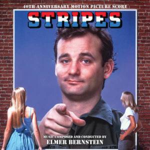 Carátula BSO Stripes - Elmer Bernstein