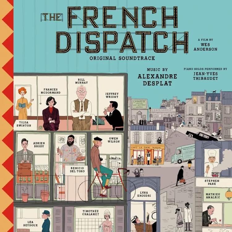 ABKCO Records edita la banda sonora The French Dispatch