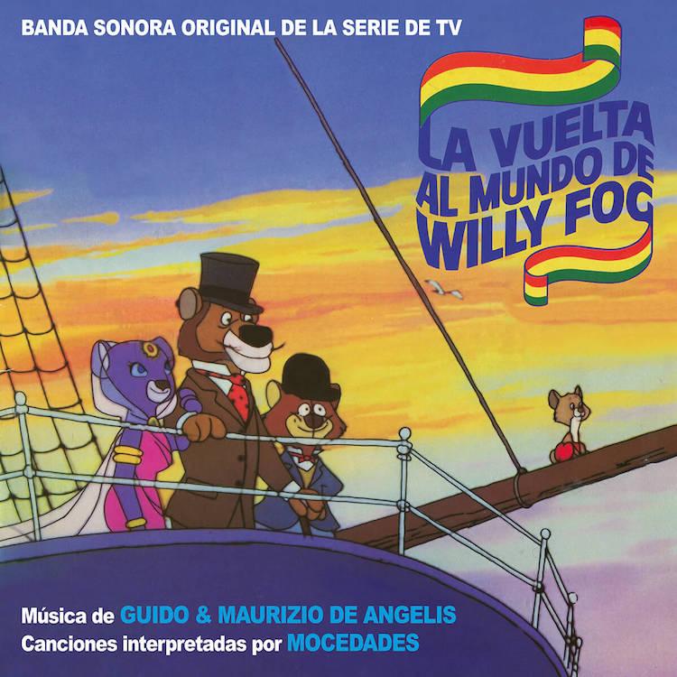 Willy Fogg y D'artacan de Guido y Maurizio De Angelis en Quartet Records