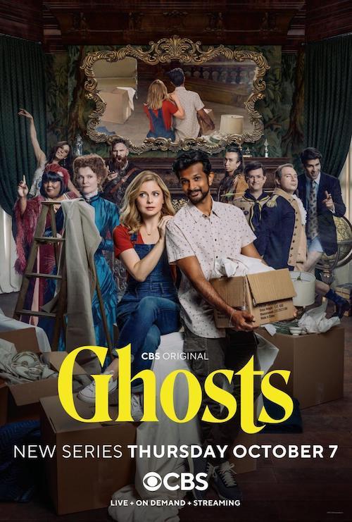 Jeff Cardoni para la serie Ghosts